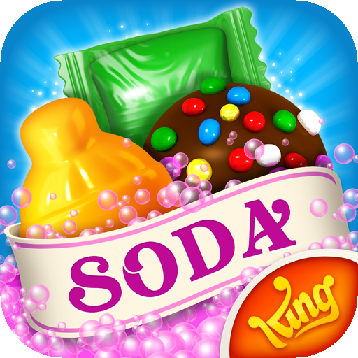 """Candy Crush Soda Saga Review : """"Just as fun as the rest!"""" (via @148apps)"""